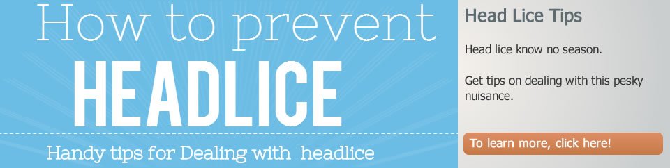 Tips for Dealing with Head Lice